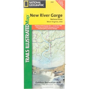 National Geographic Maps: Trails Illustrated West Virgina Map