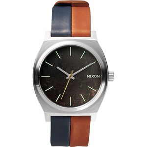 Nixon Time Teller Leather Watch