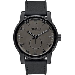 Nixon Patriot Leather Watch