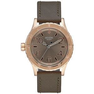 Nixon 38-20 Leather Watch Mineral Collection - Women's