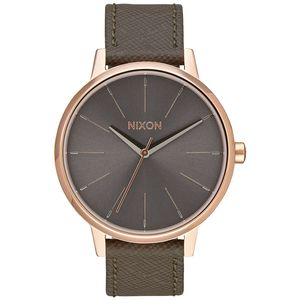 Nixon Kensington Leather Watch - Mineral Collection - Women's