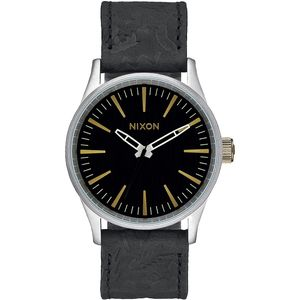 Nixon Sentry 38 Leather Watch - Peninsula North Collection