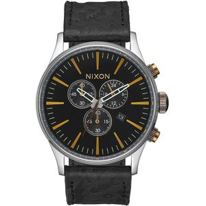 Nixon Sentry Chrono Leather Watch - Peninsula North Collection