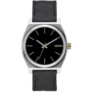 Nixon Small Time Teller Leather Watch - Peninsula North Collection