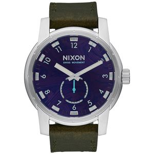 Nixon Surf Psychedelia Patriot Leather Watch