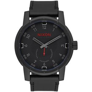 Nixon Infared Patriot Leather Watch