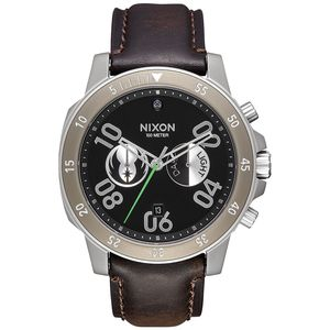 Nixon Ranger Chrono Leather Watch - Jedi Series