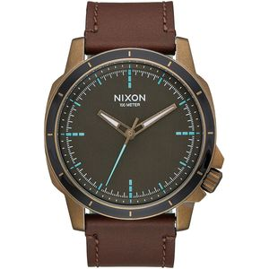 Nixon Ranger Ops Leather Watch
