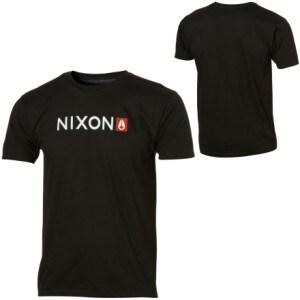 Nixon Basis T-Shirt - Short-Sleeve - Mens