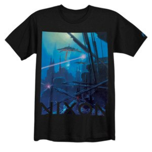 Nixon Robot Slayer T-Shirt - Short-Sleeve - Mens