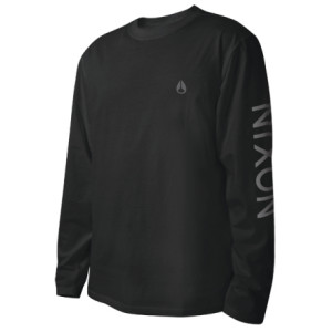 Nixon Wordmark T-Shirt - Long-Sleeve - Mens