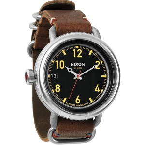 Nixon October Leather Watch