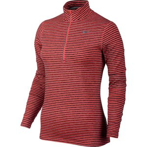 Nike Element Stripe 1/2-Zip Shirt - Long-Sleeve - Women's