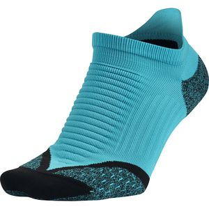 Nike Elite Running Cushion No-Show Tab Socks