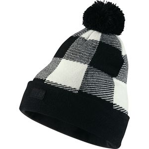 Nike Buffalo Plaid Pom Beanie