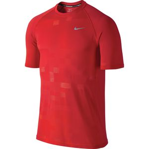 Nike Dri-Fit Knit Megapixel Contrast Shirt - Short-Sleeve - Men's