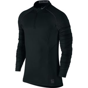 Nike Pro Hyperwarm Dri-Fit Max Fitted 1/4-Zip Mock Top - Men's