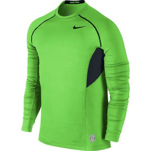 Nike Nike Pro Combat Hyperwarm Dri-FIT Max Fitted Crew - Long Sleeve - Men's