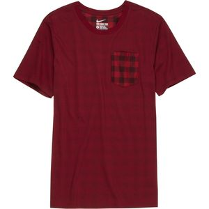 Nike SB Dri-FIT Flannel Pocket T-Shirt - Short-Sleeve - Men's