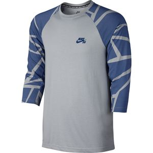 Nike SB Grip Tape Crew - 3/4-Sleeve - Men's