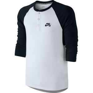 Nike SB Dri-FIT Henley Shirt - 3/4-Sleeve - Men's
