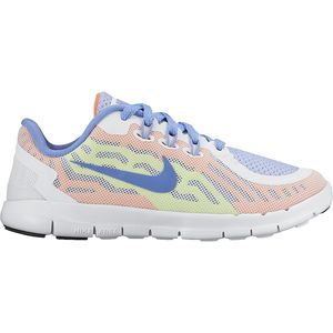 Nike Free 5 Running Shoe - Little Girls'