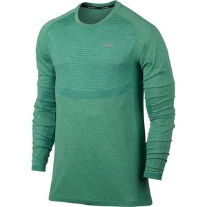 Nike Dri-FIT Knit Running Shirt - Long-Sleeve - Men's