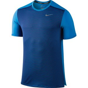 Nike Printed Dri-FIT Running Shirt - Short-Sleeve - Men's