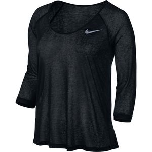 Nike Dri-FIT Cool Breeze Shirt - 3/4-Sleeve - Women's