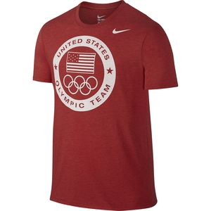 Nike USOC DRI-Blend Logo T-Shirt - Short-Sleeve - Men's