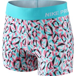 Nike Pro Cool Allover Print Short - Girls'