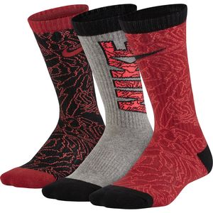 Nike Graphic Cushioned Crew Sock - 3-Pack - Kid's