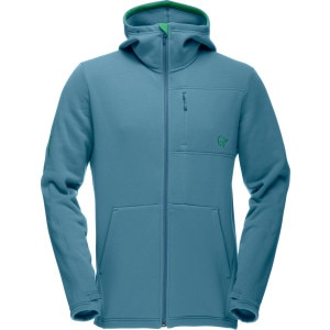 Norrøna Narvik Warm2 Stretch Zip Hooded Fleece Jacket - Men's