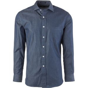 New England Shirt Company Denim Solid Shirt - Long-Sleeve - Men's