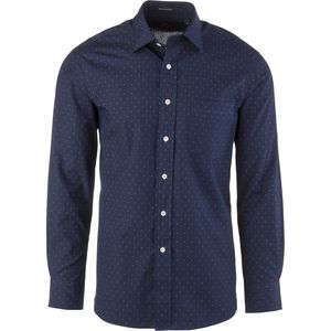 New England Shirt Company Chambray Pattern Shirt - Long-Sleeve - Men's
