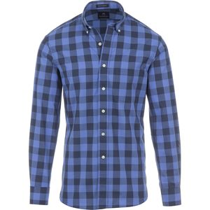 New England Shirt Company Large Check Chambray Shirt - Long-Sleeve - Men's