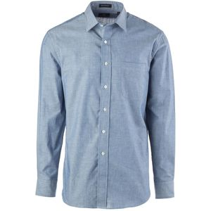New England Shirt Company Solid Chambray Shirt - Long-Sleeve - Men's