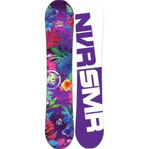 Never Summer Onyx Mini Snowboard - Girls'