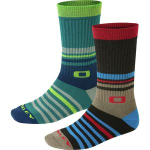 Oakley Striped Crew Socks