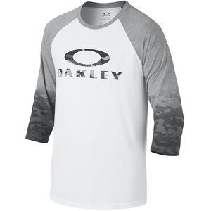 Oakley Kicker Raglan T-Shirt - 3/4-Sleeve - Men's