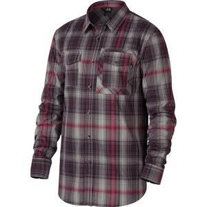 Oakley O-Plaid Woven Long-Sleeve Shirt - Men's