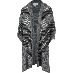 Olive and Oak Grey & Black Duster Sweater - Women's