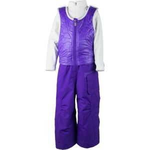 Obermeyer Chacha Bib Insulated Pant - Toddler Girls'