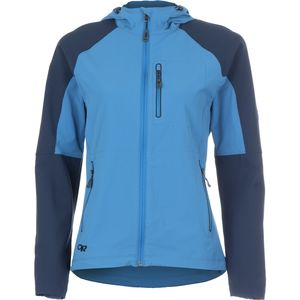 Outdoor Research Ferrosi Hooded Softshell Jacket - Women's