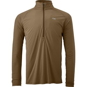 Outdoor Research Echo Zip-Neck Shirt - Long-Sleeve - Men's