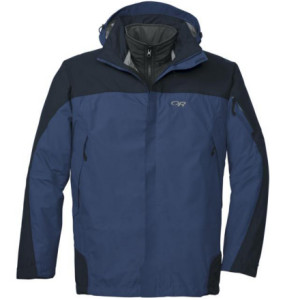 photo: Outdoor Research Trio Jacket component (3-in-1) jacket