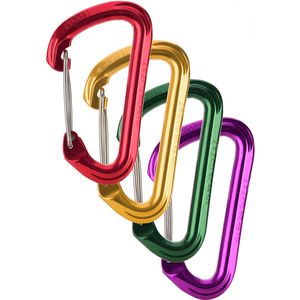 Omega Pacific Dash Infinity Wire Gate Carabiners - 4-Pack