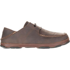 Olukai Ohana Lace-Up Nubuck Shoe - Men's