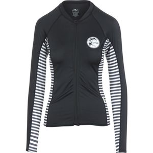 O'Neill Print Full-Zip Rashguard - Long-Sleeve - Women's