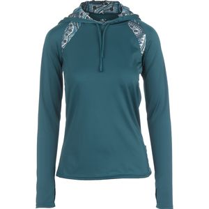 O'Neill Skins Print Hooded Rashguard - Long-Sleeve - Women's